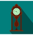Watch icon flat style vector image vector image