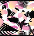 abstract stylish texture with splatter artistic vector image vector image
