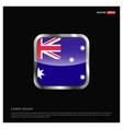 australia flag design vector image