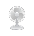Fan isolated on white vector image