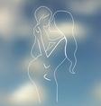 Happy maternity vector image