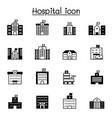 hospital icon set graphic design vector image