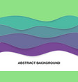 layered paper cut shapes 3d abstract background vector image vector image