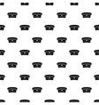 military hat pattern vector image vector image