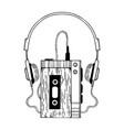 portable audio cassette player engraving