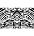 samoa style ornament vector image vector image