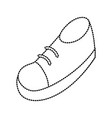shoe cartoon isolated vector image vector image