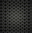 Abstract seamless black and white background with