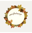 Autumn decoration vector image