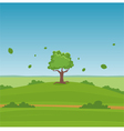 Cartoon Landscape vector image vector image