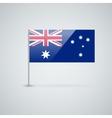 Flag of Australia vector image