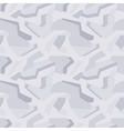 Geometric light-grey camouflage seamless pattern vector image