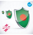 I Love Bangladesh Flag vector image