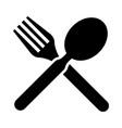 menu restraurant icon vector image