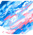 pink blue watercolor texture vector image vector image