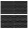 Seamless metal backgrounds set vector | Price: 1 Credit (USD $1)