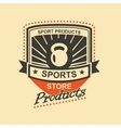 Sports logo vector image