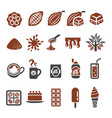 cocoa icon vector image vector image