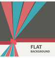flat background 10 vector image
