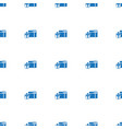 gifts icon pattern seamless isolated on white vector image vector image