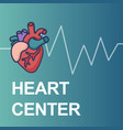 Heart care logo healthcare and medical concept