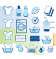 Laundry set vector | Price: 1 Credit (USD $1)