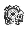 Steampunk mechanism vector image vector image
