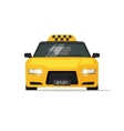 Taxi car cab icon isolated on white vector image vector image