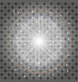 isolated golden lens flare glow transparent vector image