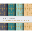 Art Deco seamless pattern 07 vector image vector image