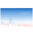 city buildings linear icons set skyscrapers vector image vector image