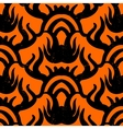 Ethnic pattern with tribal motifs vector image