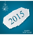Happy New Year and Marry Christmas Background vector image