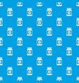 medicine bottle pattern seamless blue vector image vector image