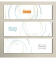 pictures with circles of different colors vector image vector image