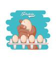 protein eggs diet healthy food vector image vector image