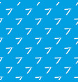 razor blade pattern seamless blue vector image vector image