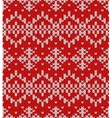 Snowflakes Christmas Pattern vector image vector image