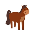 Cartoon Horse or Pony vector image vector image