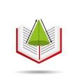 concept school book geometri vector image