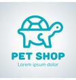 Petshop Logo 2 vector image vector image