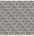seamless monochrome pattern abstract stripy vector image vector image