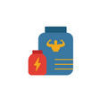 sport nutrition icon simple flat element from vector image vector image