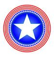 american star symbol icon vector image vector image