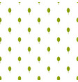 apple leaf pattern seamless vector image vector image