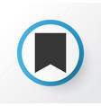 bookmark icon symbol premium quality isolated vector image vector image