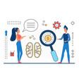 brainstorm teamwork business people working vector image