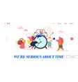 business management concept time is money save vector image vector image