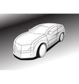 car design vector image vector image