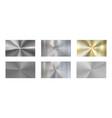 circular metal texture radial brushed metals vector image